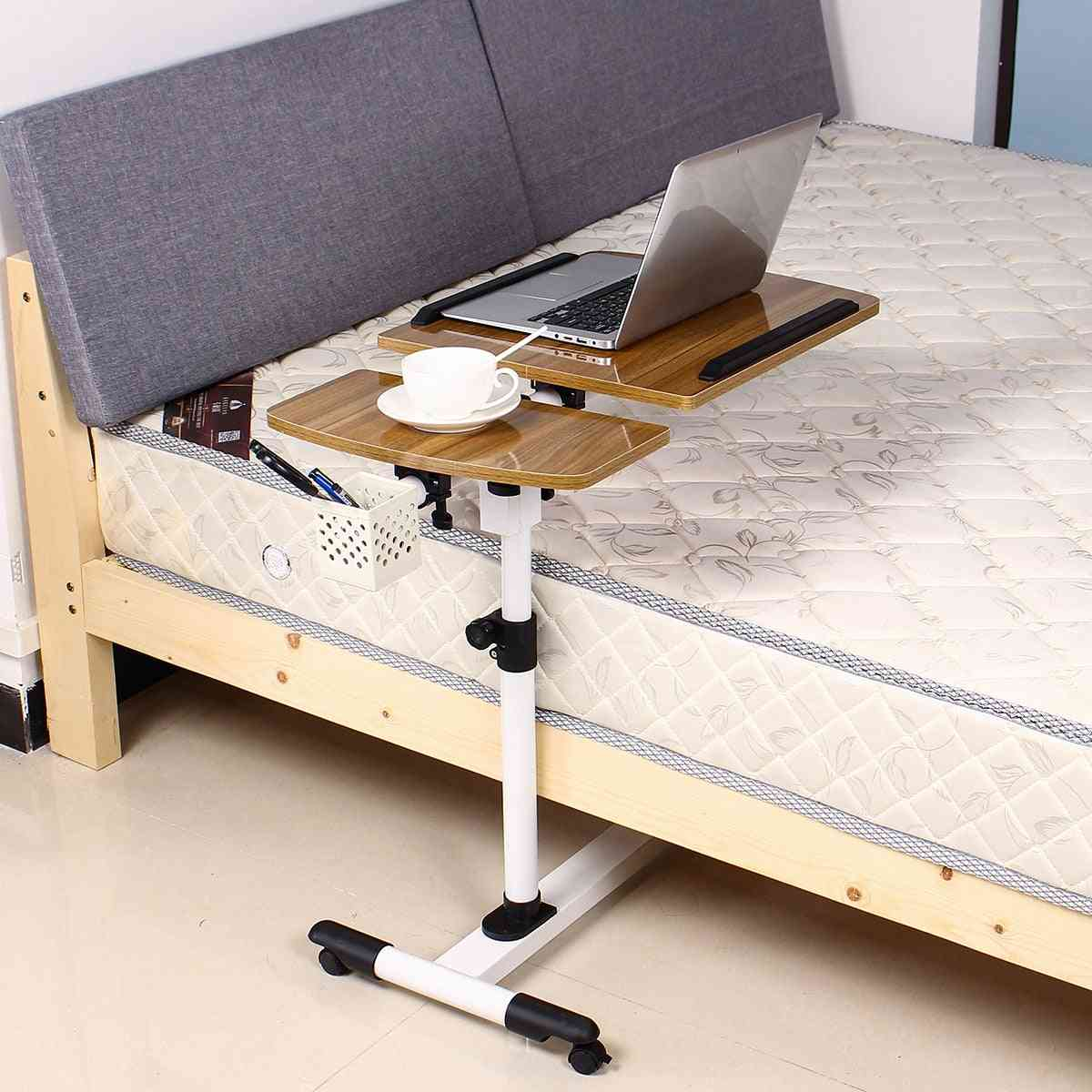 Adjustable Angle And Height Rolling Laptop Notebook Laptop Desk Stand
