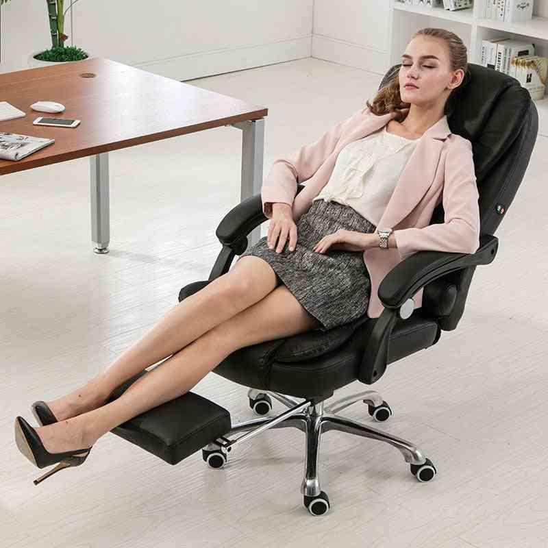 Computer Swivel Ergonomic Reclining Chair Lying Lifting