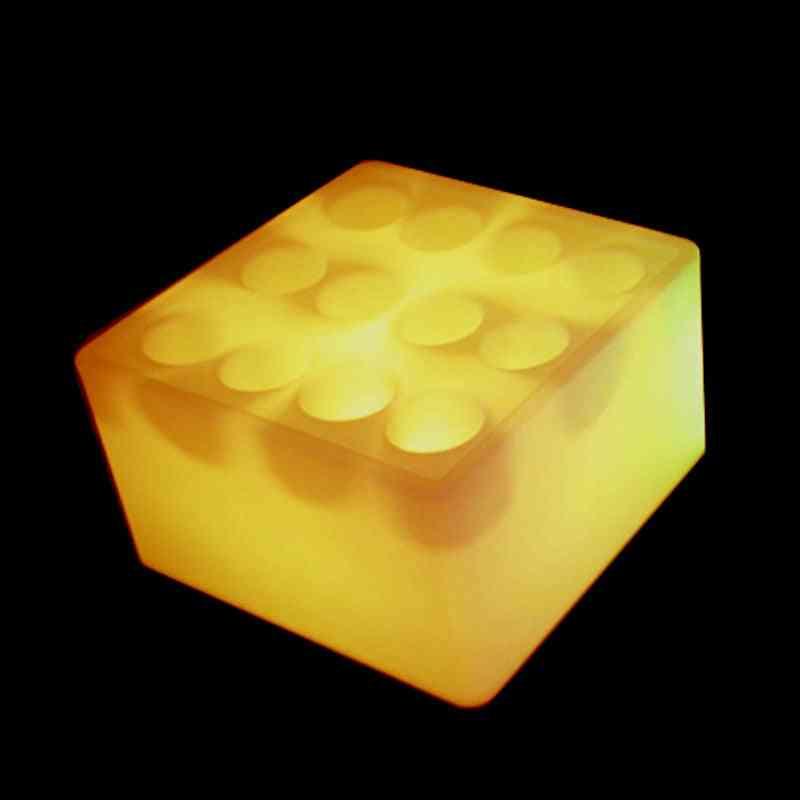 16 Color Change Led Luminous Wine Rack Waterproof Ip65 Glowing Square Holder