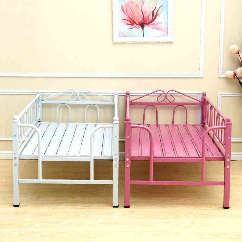 Children's Bed Guardrail Princess Widening Stitching Combination Single
