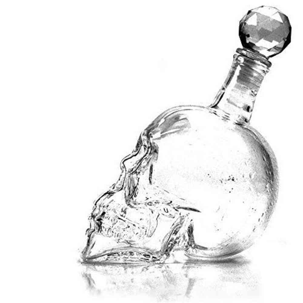 Decanters Crystal Skull Head Shot Glass Wine Decanter
