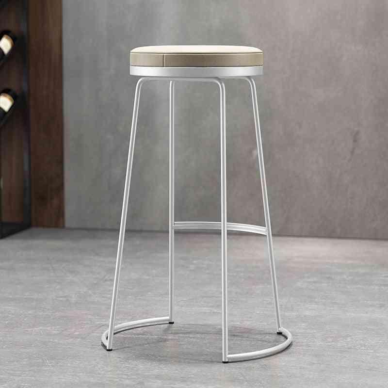 Simple Bar Stools/modern Creative Chairs, European High Stool