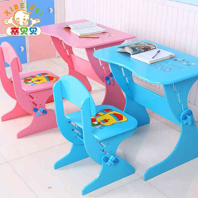 Adjustable Study Desk With Chair