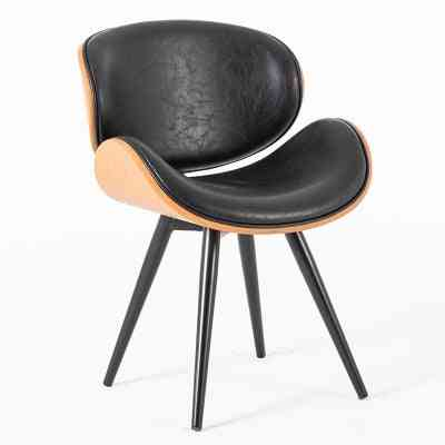 Modern Minimalist  Coffee Shop/home Leisure Chair