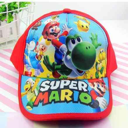 Boy Super Mario Youth Adjustable Baseball Hat, Cap For