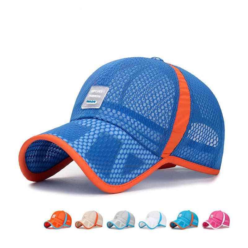 Summer Breathable Mesh Cap-sun Visor Hat
