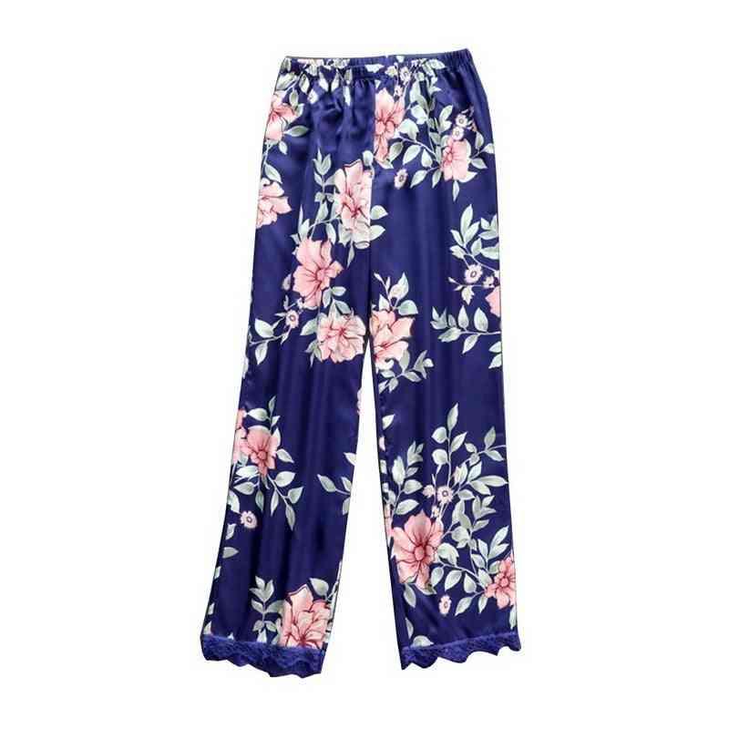 Summer Printing, Loose Sleeping Pants, Sleep Wear Pajama