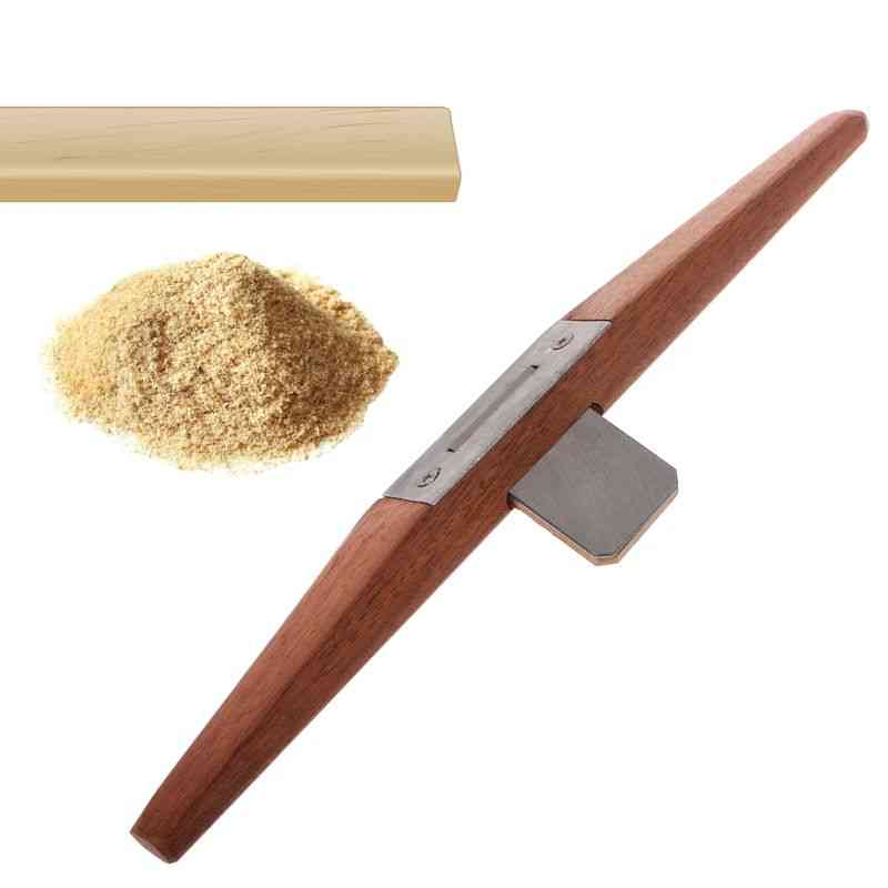 Wooden Bird Flat Planer Carpenter, Slotted Edge, Trimming Planers Tool