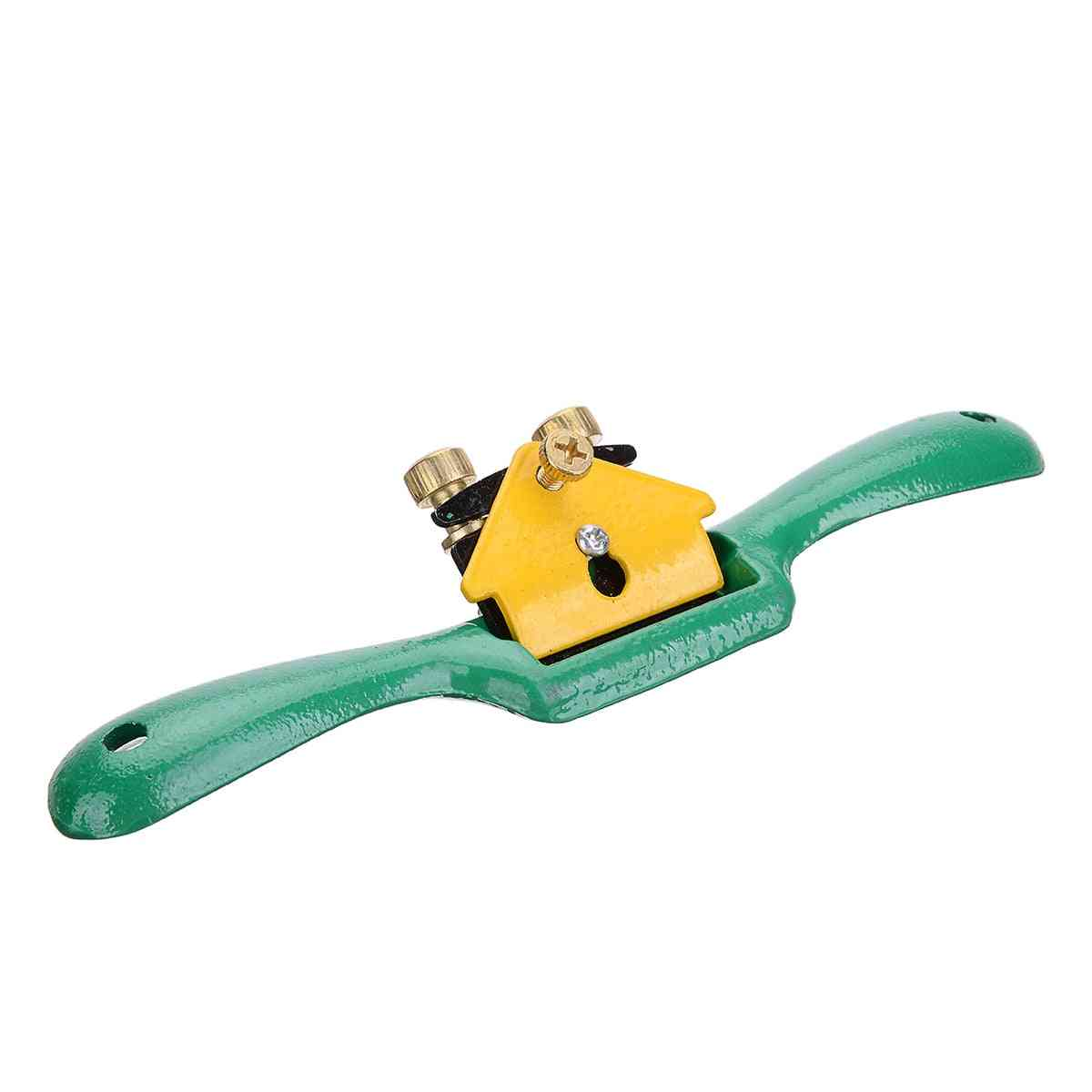 Iron Spoke Shave Plane Metal Cutting Edge Wood Shaping For Woodworking Machinery