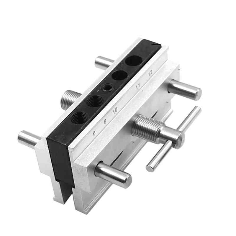 Stainless Steel, Vertical Hole Punch Locator, Doweling Drill For Woodworking