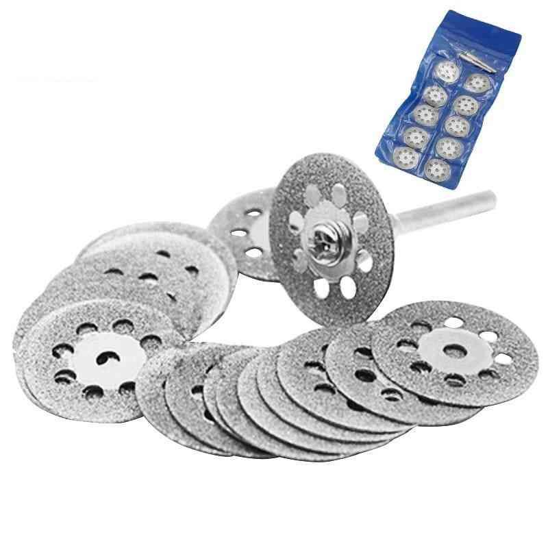Mini Sharp Diamond Cut Off Rotary Tool Cutting Disc Accessories For Dremel