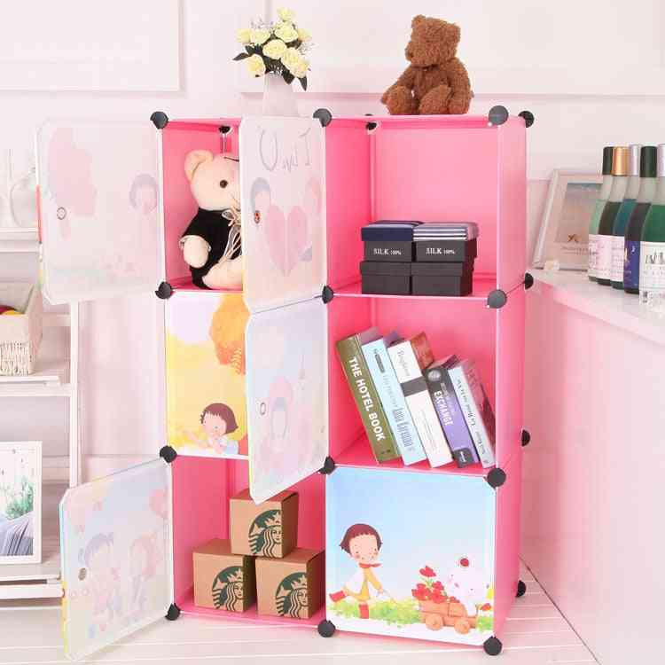 Kids Furniture Resin Wardrobe, Baby Storage Cabinet