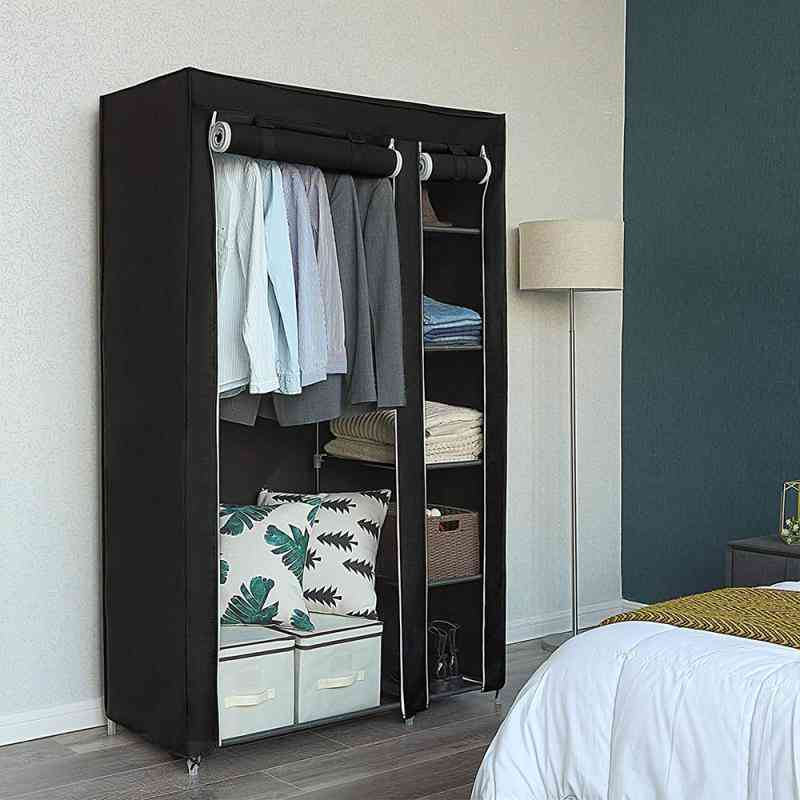Non-woven Multifunction Wardrobe Closet Cloth Storage Cabinet Locker