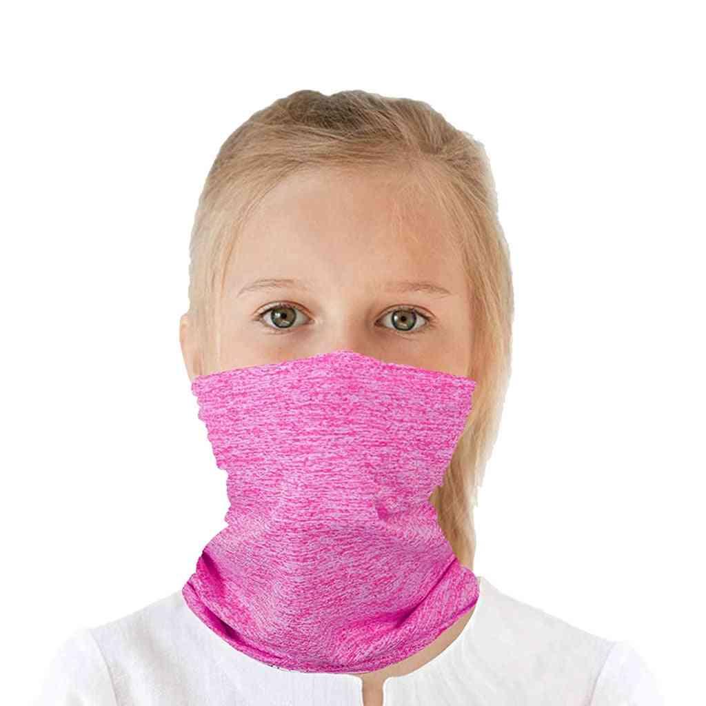 Kids Outdoor Scarf Mask, Magic Bandana, Face Mask
