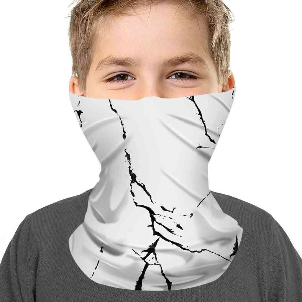 Kids Seamless Bandana, Outdoor Sport Cycling Neck Face Covering Mask