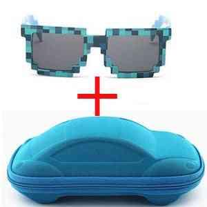 Glasses Pixel, Mosaic Square, Sun-glasses For