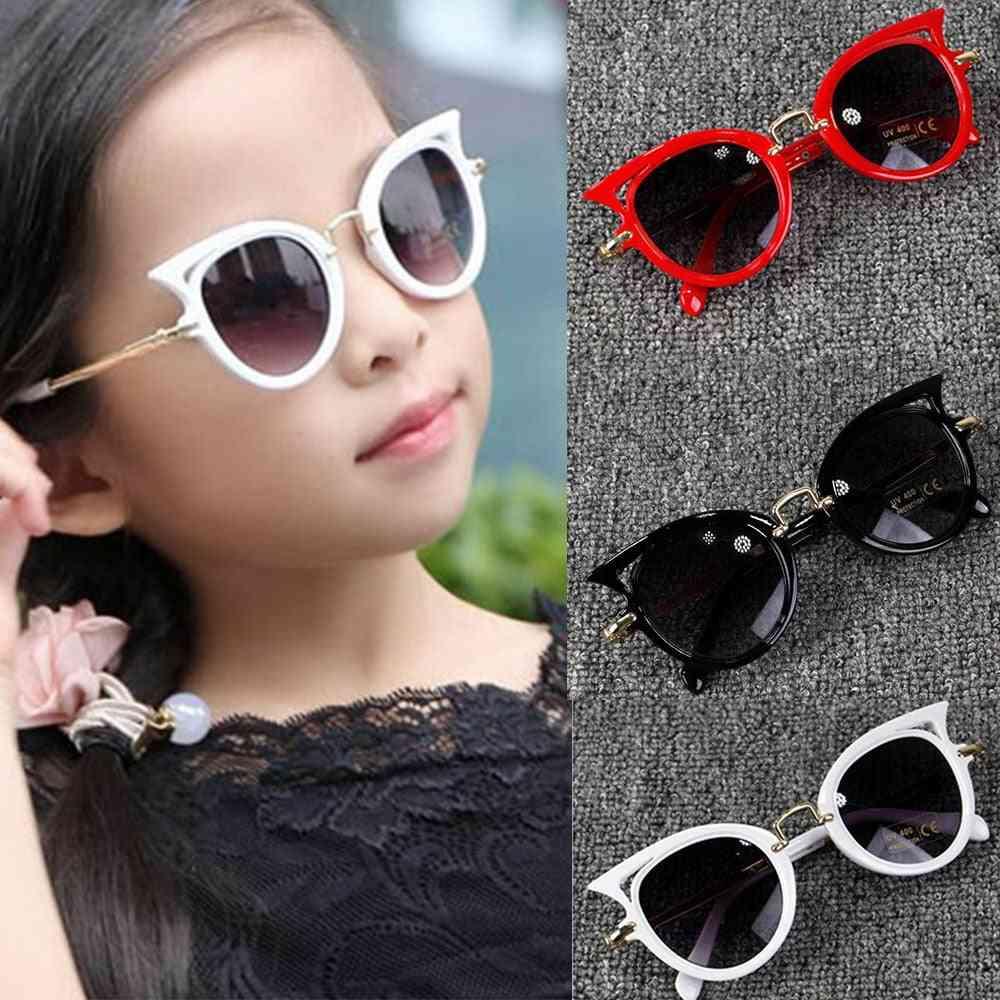 1pc Vintage Stylish Eye Sunglasses For Kid Cute Party Eyewear
