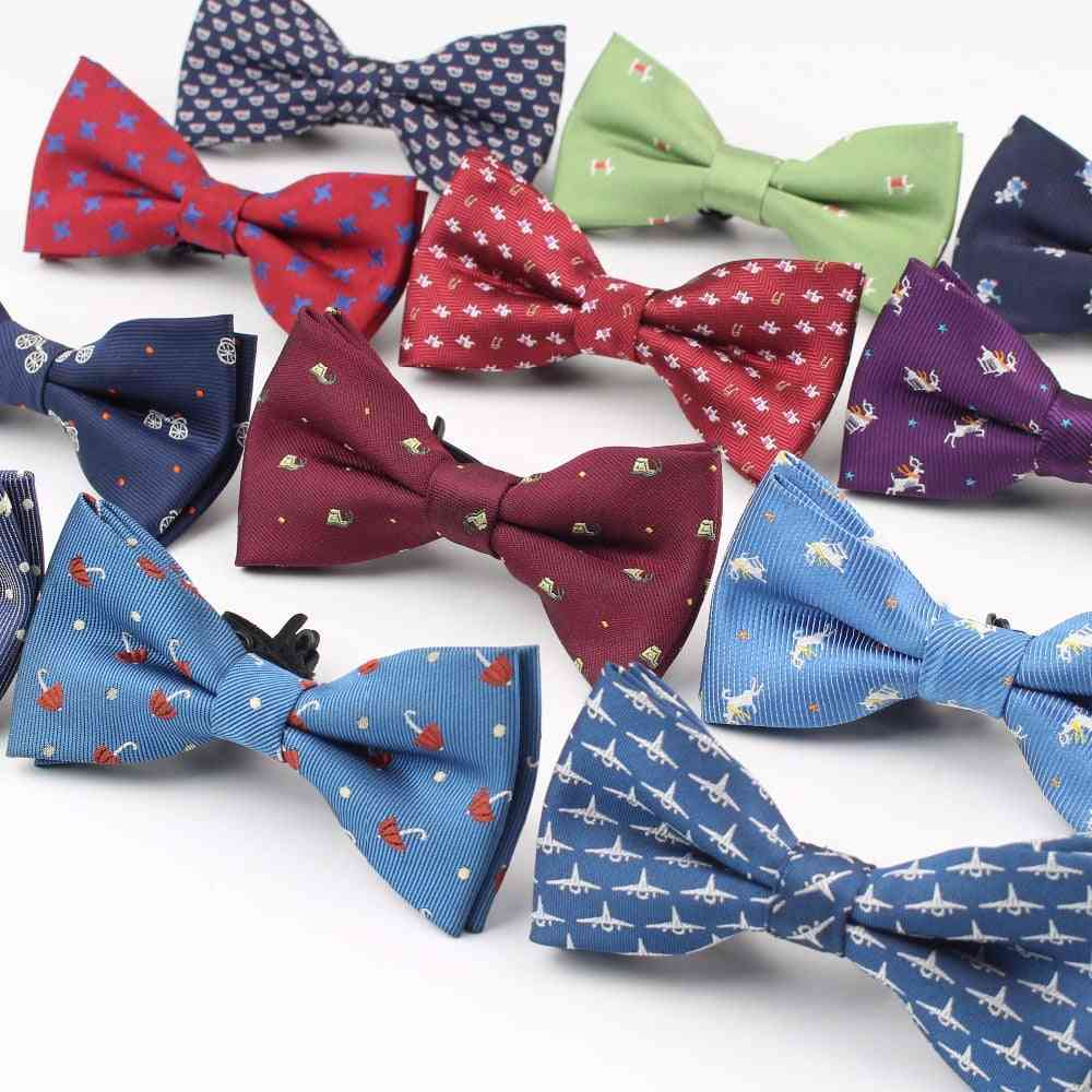 Plaid Polyester Bow Ties