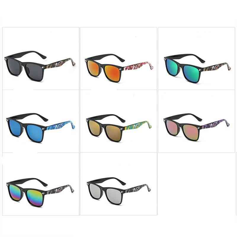 Camouflage Sunglasses, Mirror Coating Eyewear For,