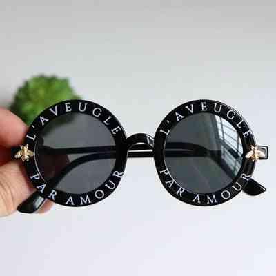 Summer Round Frame, Small Glasses, Sunglasses For Girl, Boy