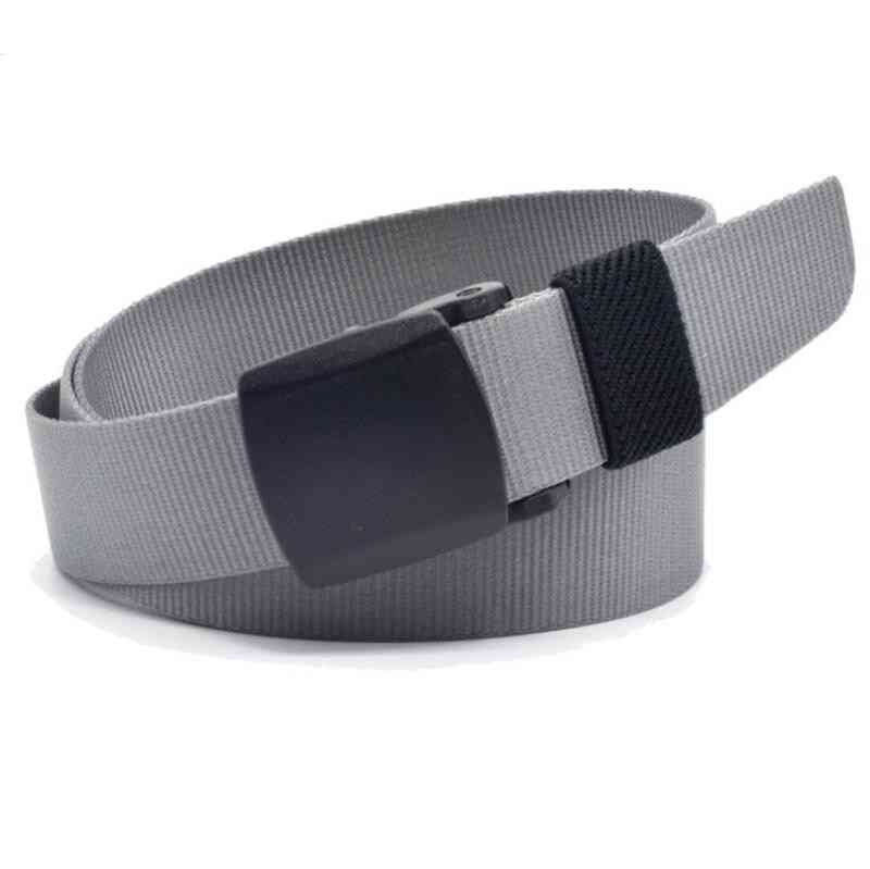 Children's Canvas Military Training Belt With Buckle