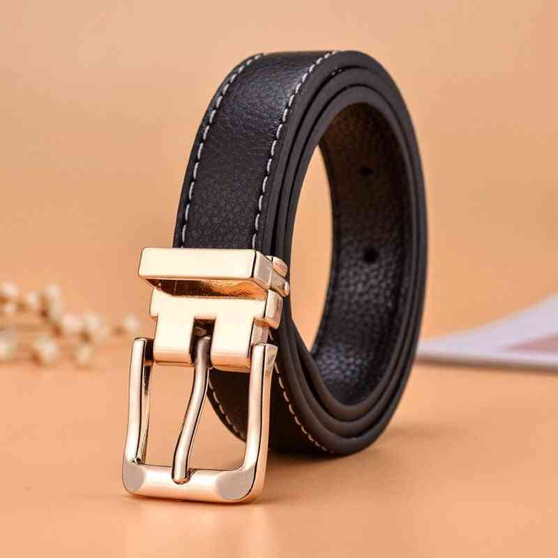 Boy, Girl High Quality Casual Pu Leather Waist Strap Belts