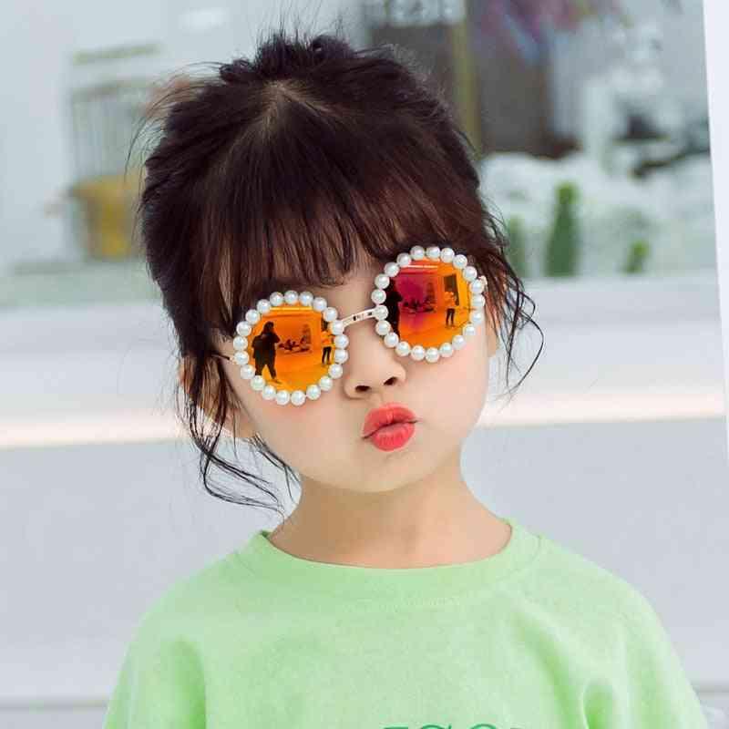 Round Pearl Sunglasses