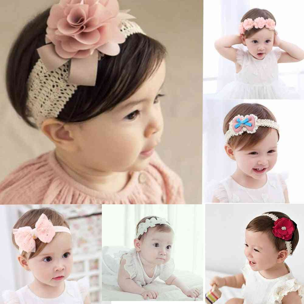Baby Headband Flowers- Hair Accessories