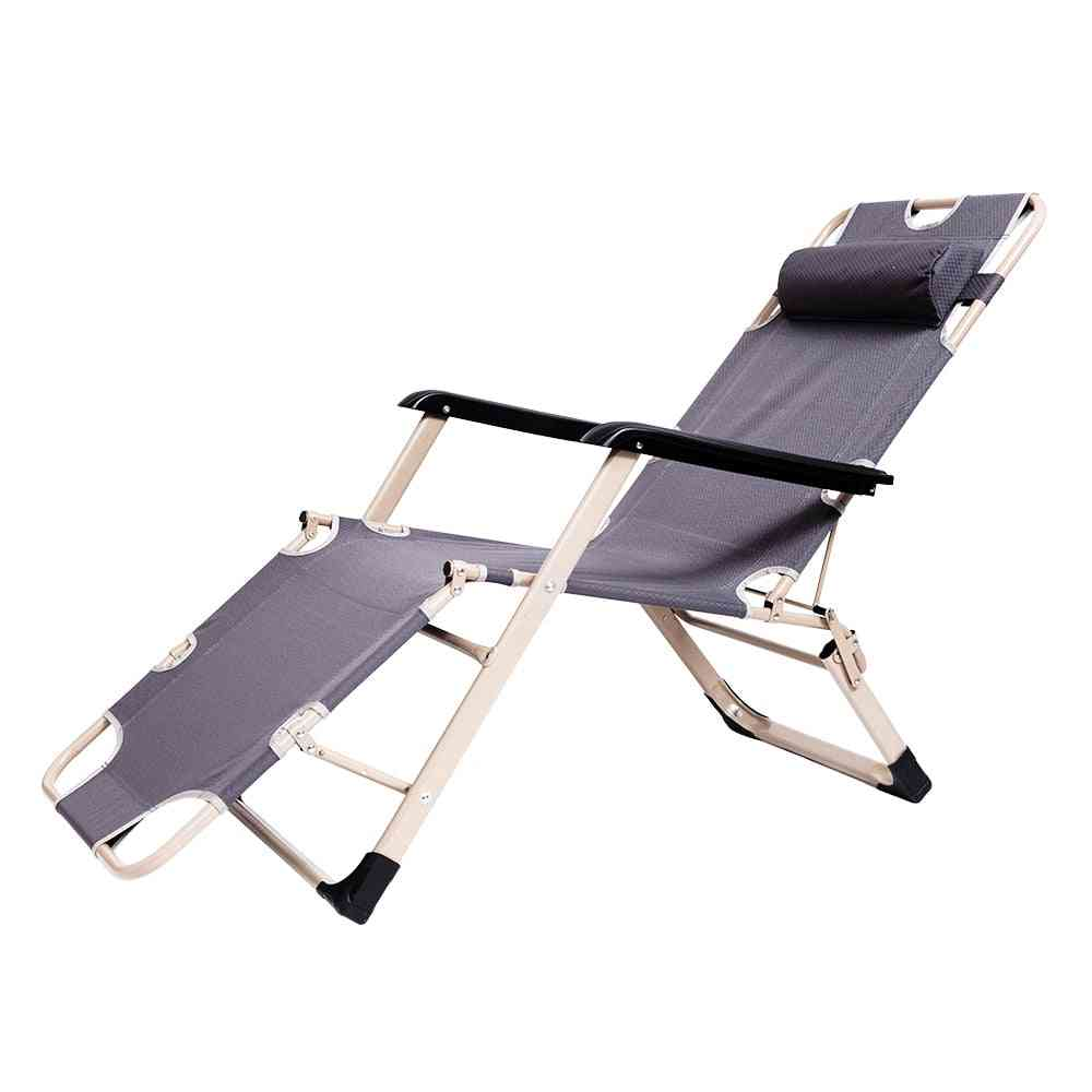 Metal Modern Chairs, Folding Siesta Bed, Couch Fishing For Home, Office