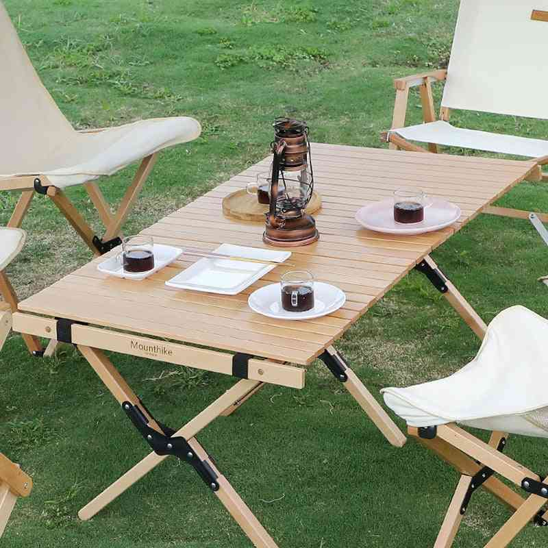 Beech Camping Wooden Table