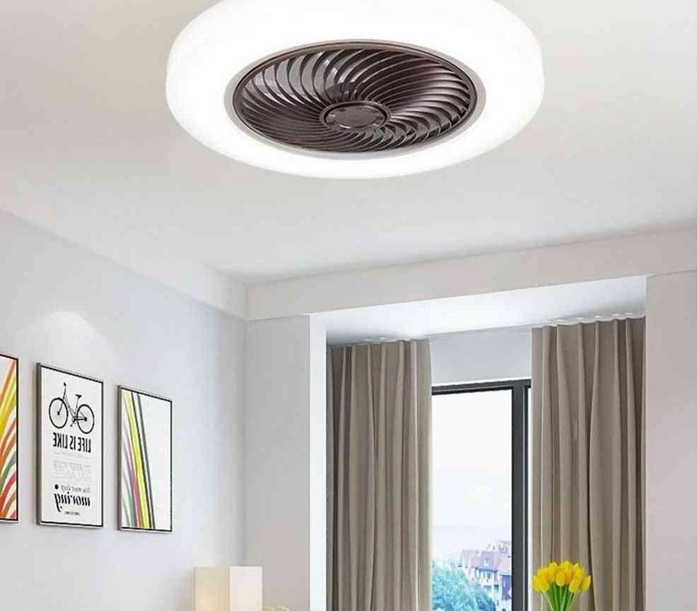 Ceiling Fan With Lights Remote Control Bedroom Decor Ventilator Lamp