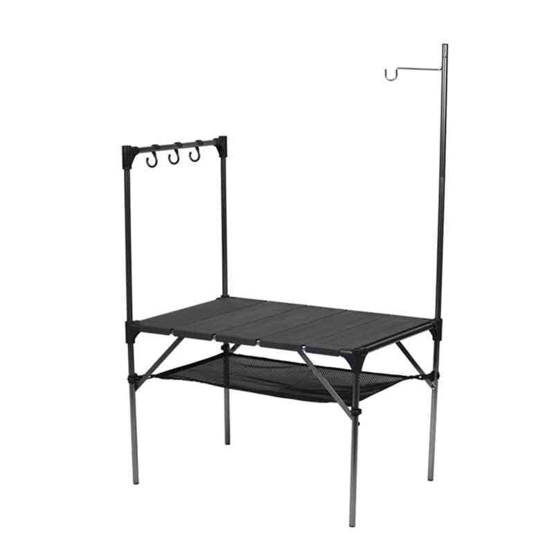 Camping Barbecue Tables, Stitched Assembled Aluminum Plate Table