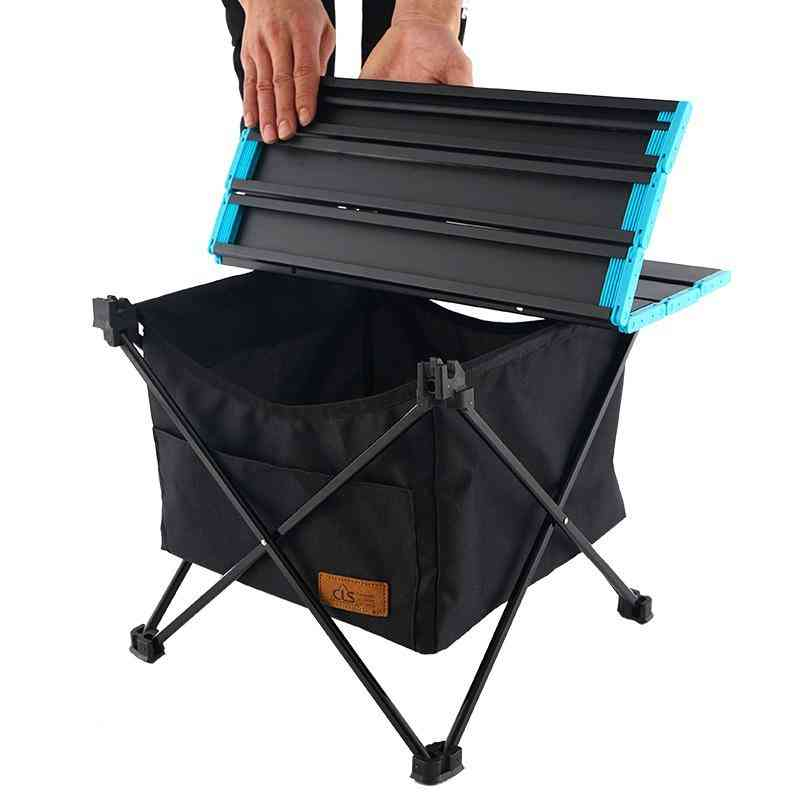 Outdoor Foldable Table With Storage Bag