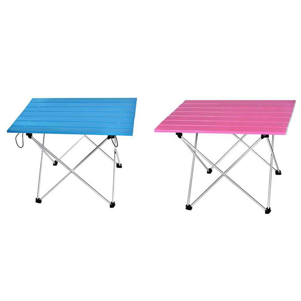 Aluminum Hard-topped Portable Table