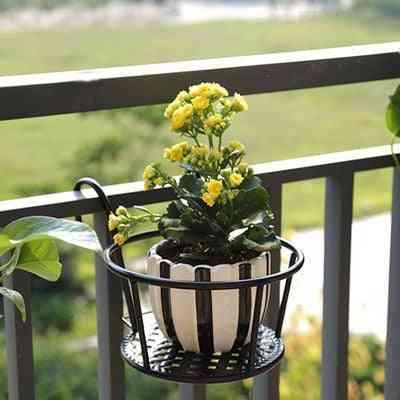 Versatile Lightweight Metal Plants Stand For Indoor Balcony