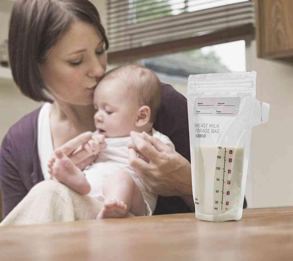 Baby Care- Breast Milk Freezer, Disposable Food Storage Bag
