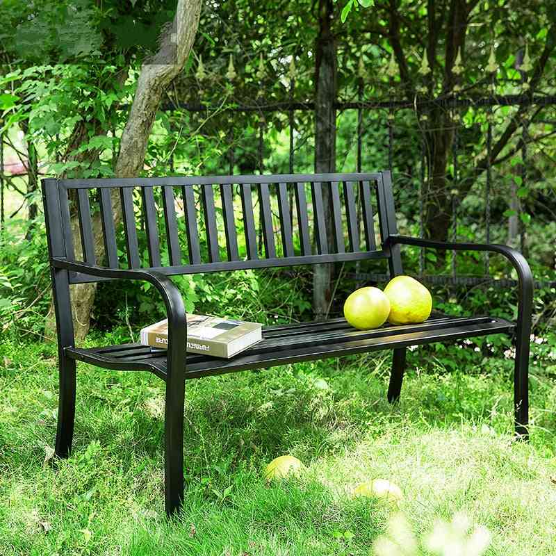 Double Chair Leisure Bench For Courtyard/outdoor/ Balcony