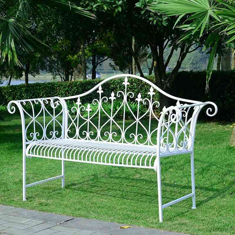 Double Chair Leisure Lounge Bench- Outdoor Furniture