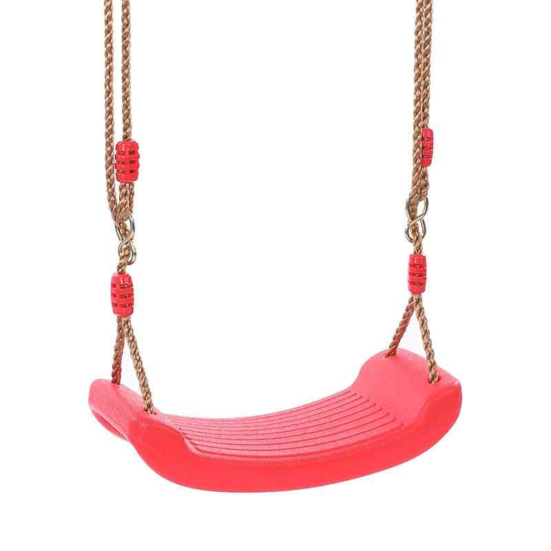 Plastic Garden Swing Rope And Seat Set