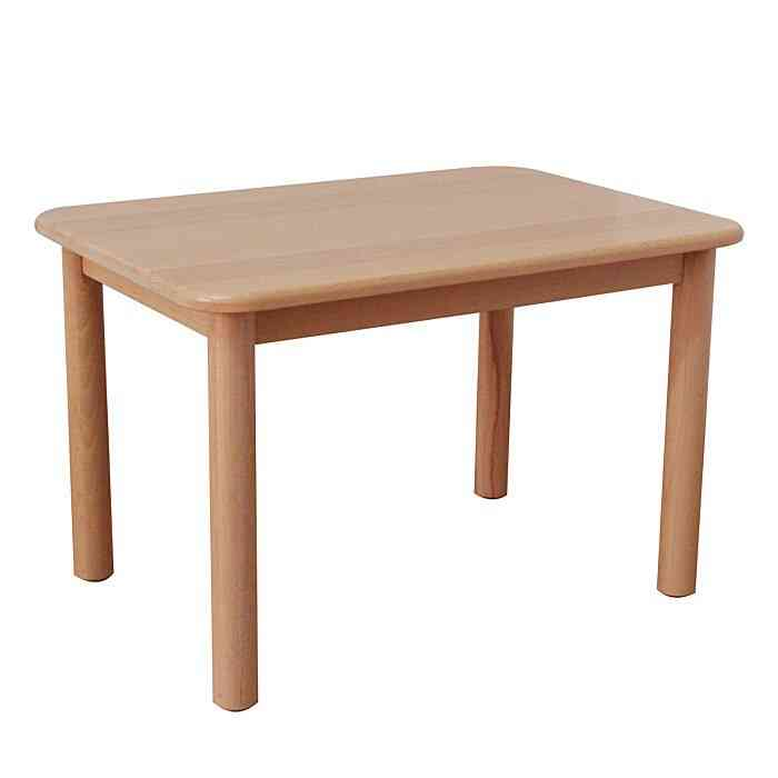 Solid Wood Kindergarten Small Learning/dining Table