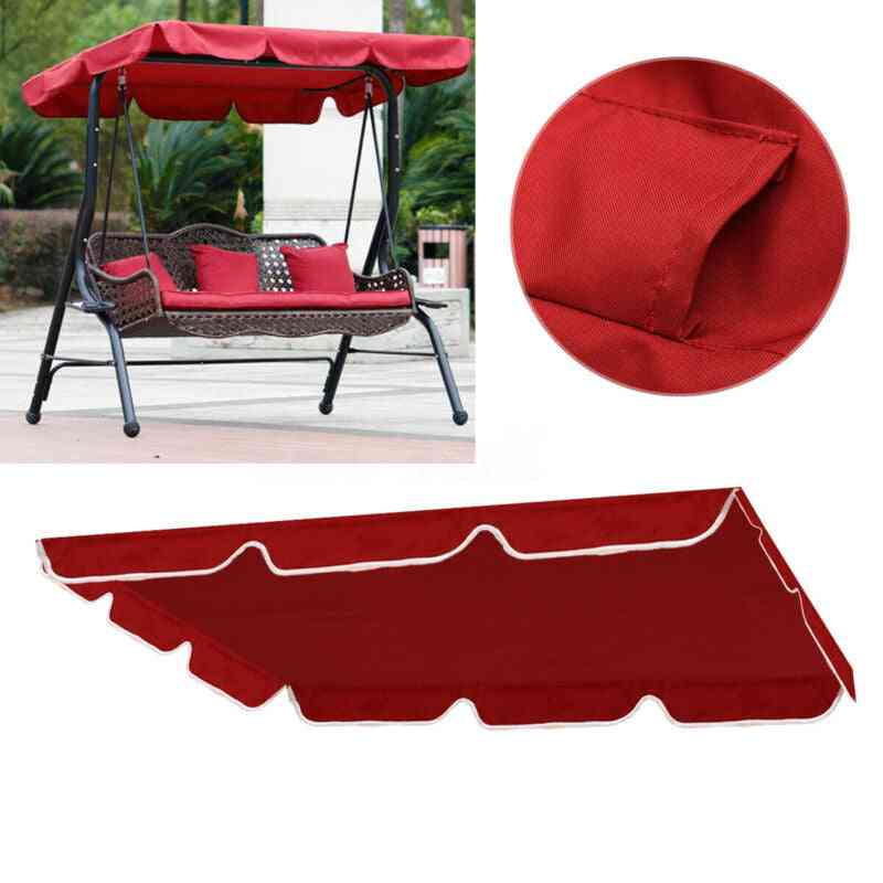 Outdoor Patio Swing Canopy - Top Cover Only
