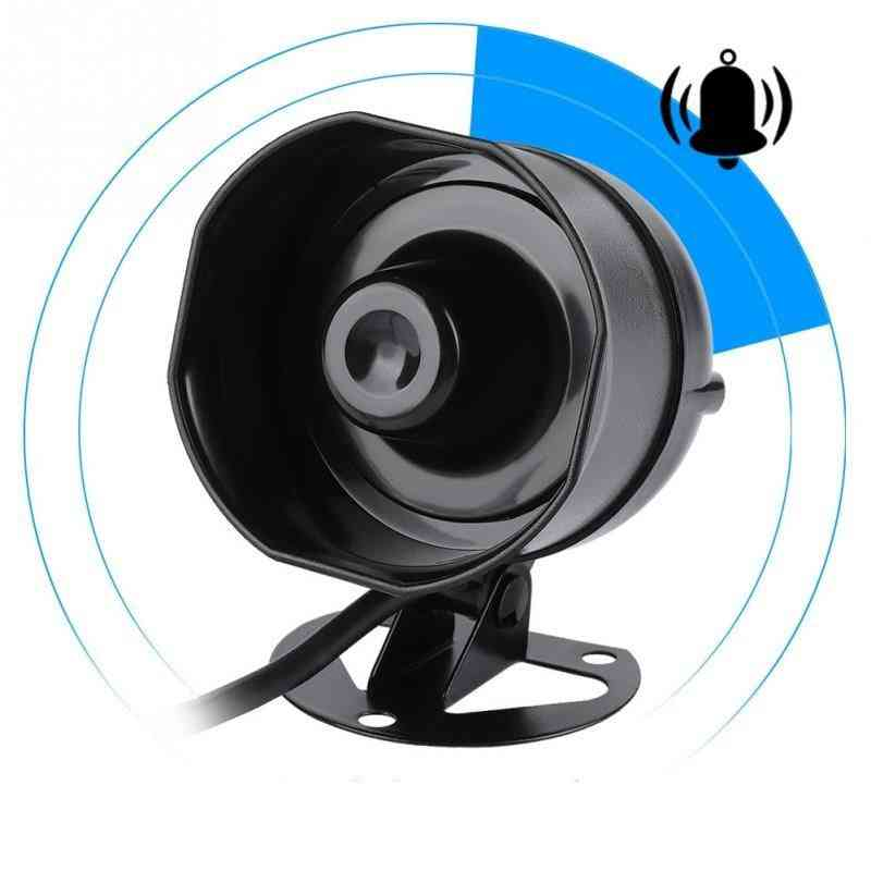 Waterproof Electric Loud Alarm Siren-support Mp3 Playback & Sd Card