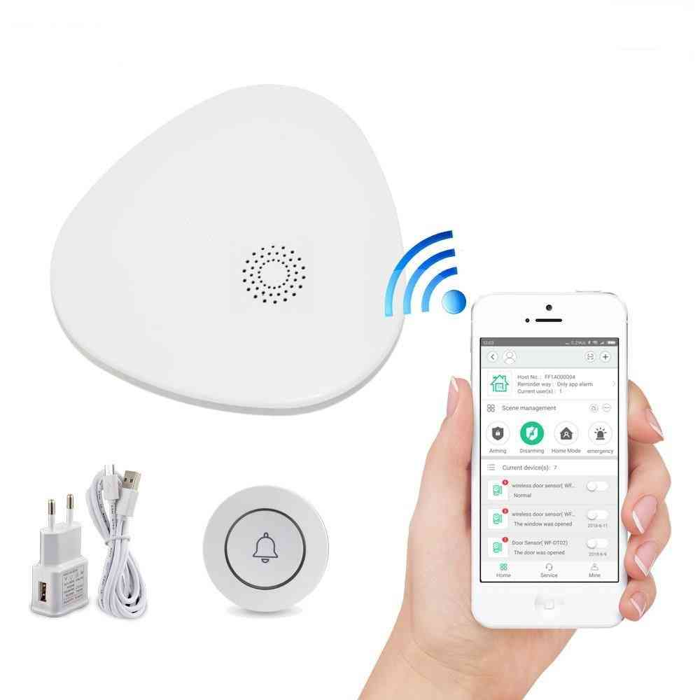 Wifi Gateway System With Wireless Doorbell Button