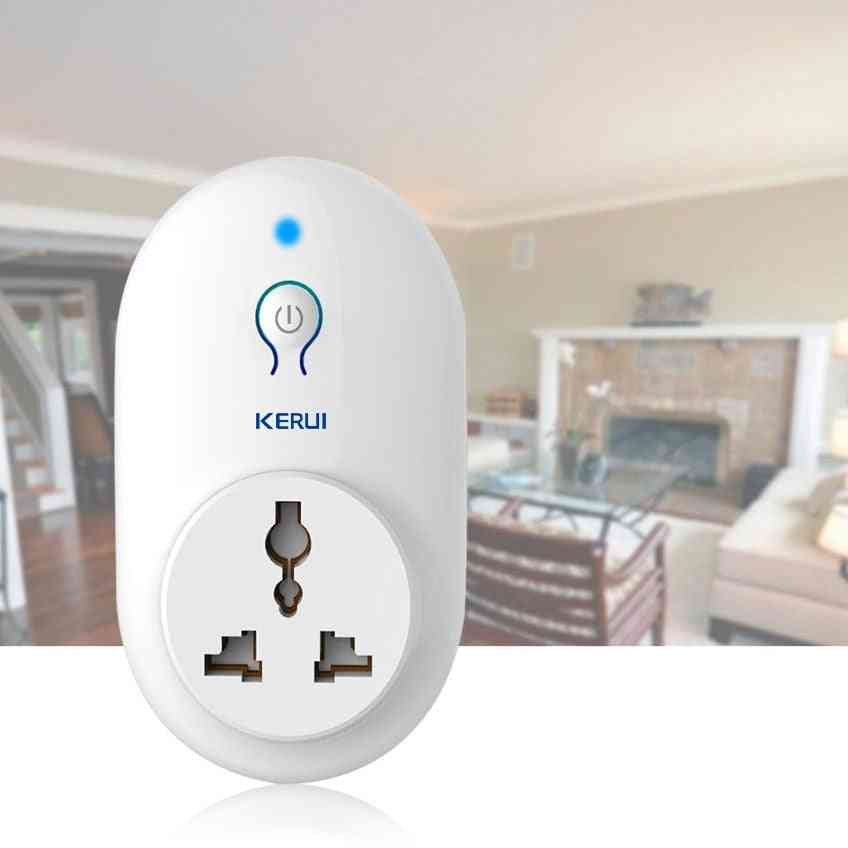 Wireless Remote Control, Smart Socket Outlet For Security Alarm System