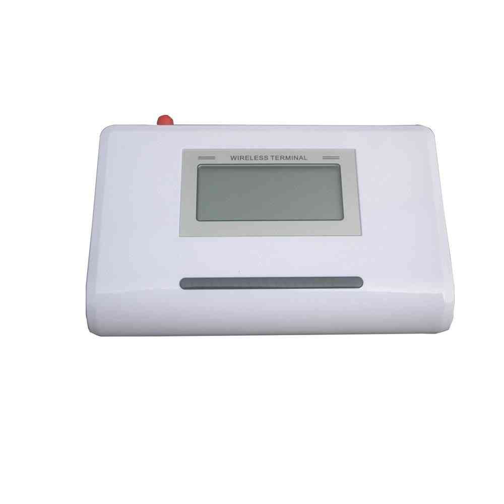 Gsm Fixed, Wireless Terminal With Lcd Display, Alarm System