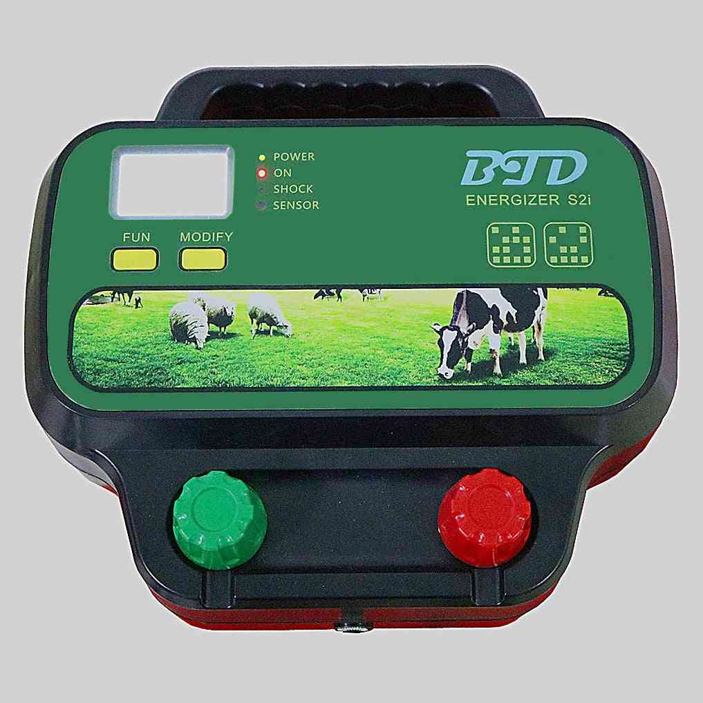 Solar Electric- Fence Energiser Charger Controller For Cattle, Animal