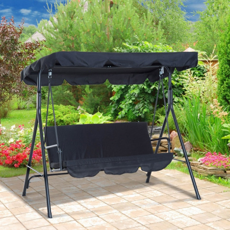 Canopy And Seat Cover Set For 3 Seater Swing - Covers Only