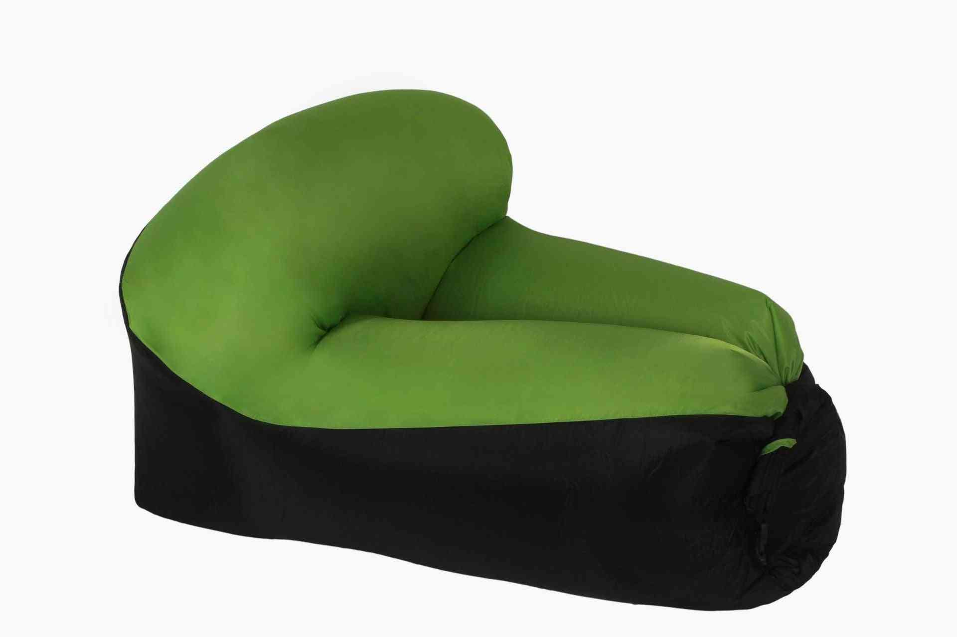 Portable Air Chair, Bed & Sofa For Outdoor Camping Bag