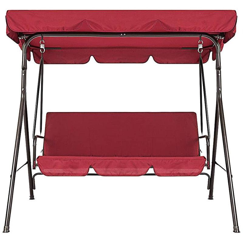 3 Seat Terrace Swing Waterproof Covers Set