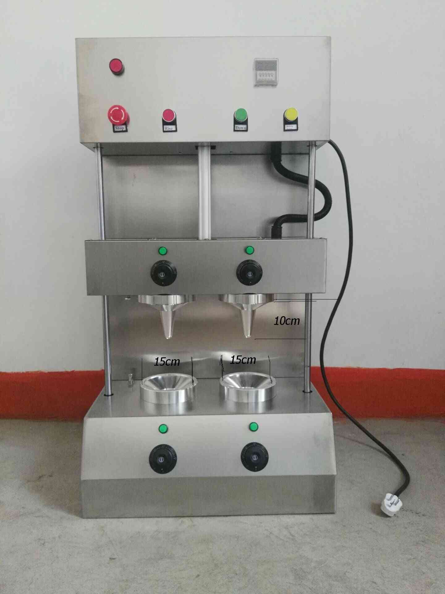New Stainless Steel Pizza Cone Machine